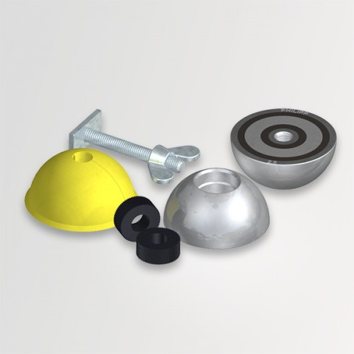 Casquete moldeador de goma para bulón de 5tn,